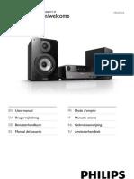 Instrucciones Microcadena Philips