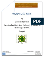NM Practical File