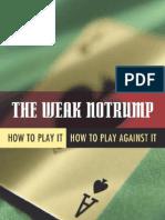 The Weak Notrump