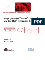 Lotus Domino Server Implementation Guide for linux[REDHAT]