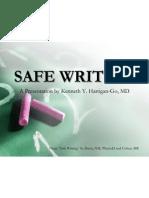 Safe Writing