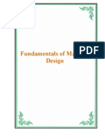 Fundamentals of Machine Design 3252