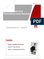 WCDMA Power and Scrambling Code Planning