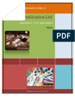 Navneet Publications Strategy - FLAME School Of Business