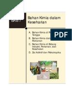 08. IPA KLS 8 BAB 7 Bahan Kimia Dalam Keseharian