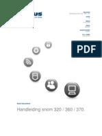 Handleiding voip Snom 320-360-370