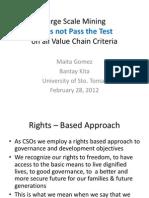 Maita Gomez Value Chain Luzon Conference