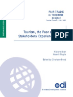 Tourism - The Poor and Other Stakeholders_Experience in Asia