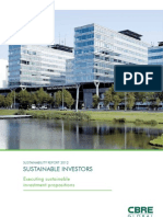 CBRE Global Investors Sustainability Report 2011