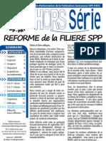Réforme SPP 2012