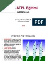 JAA ATPL 050 Meteoroloji -19 Windshear and Turbulence