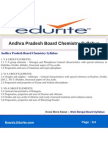 Andhra Pradesh Board Chemistry Syllabus