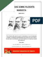 Jornadas de Formación Filosofía Marxista
