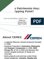 CEMEX's Patrimonio Hoy
