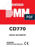 CD770 Manual
