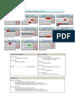 Calendario 2012-13 Cas