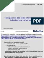 Deloitte Maitrise Couts Informatiques IT Gov