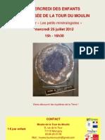 affiche atelier minéralogiste