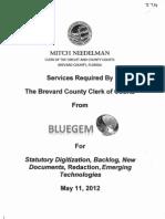 Digitization ITN Response - BlueGem