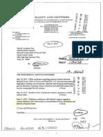 Krasny & Dettmer BlueGem Contract Review Invoice 120521