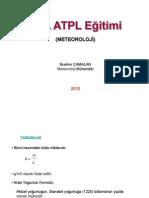 JAA ATPL 050 Meteoroloji - 5 - Yoğunluk (Density)