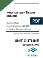 Kontrak Kuliah Perancangan Sistem Industri