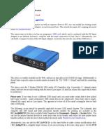Sound Card DC Input Modification