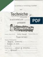 Technothlon Jun. 2012