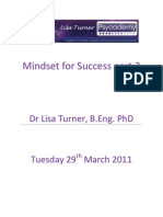 Mindset for Success Transcript Part2