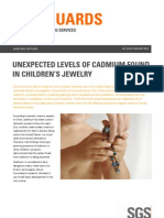 EN Emmanuel SGS Safeguards 01310 Unexpected Levels of Cadmium Found in Childrens Jewelry