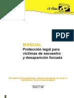 Manual de Proteccion Legal a Victimas Del Secuestro y Desaparicion