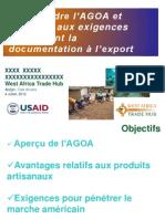FR AGOA - Taking Advantage of AGOA Handicrafts Workshop July 2012