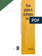 eBook Revue Generale de Psychanalyse