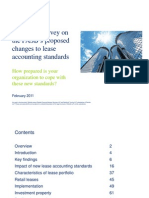 FASB Lease Accounting Standard Changes