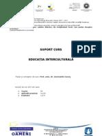 Disciplina_Optionala 1 A3 - Educatie Interculturala