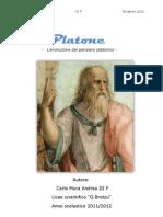 L'evoluzione del pensiero platonico