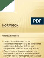 Hormigon Fresco