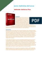 Los Mejores Antivirus Del 2012