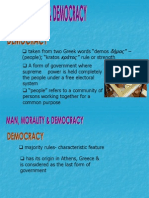 Morality & Democracy