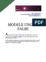 Modele Unghii False