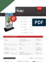 """Totem Multimediale 17"""" - Modello Yuki"""