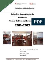 relatório avaliação Biblioteca_2012_ESPENICHE