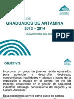 GRADUADOS ANTAMINAS 2012 - 2014