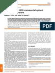 Survey of the 2009 Commercial Optical Biosensor Literature