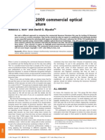 Survey of the 2009 Commercial Optical Biosensor Literature