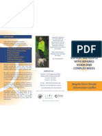 VHA - Trifold Respite Leaflet