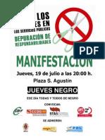 2012-07-17 Convocatoria manifestación contra recortes