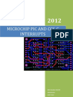 Interrupts Microchip PIC With CCS-C