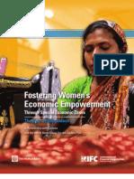 Fostering Women's Empowerment Through Special Economic Zones - Bangladesh