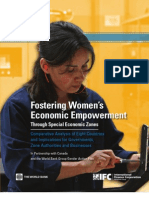 Fostering Women's Empowerment Through Special Economic Zones - Global
